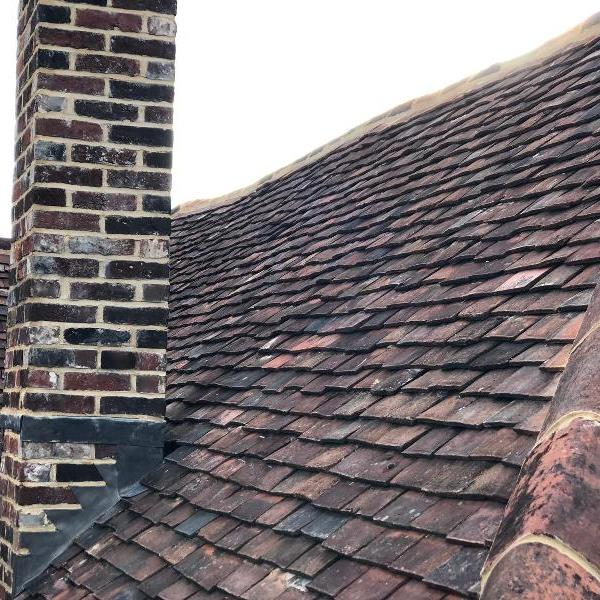 Grade II listed roof in Hampshire