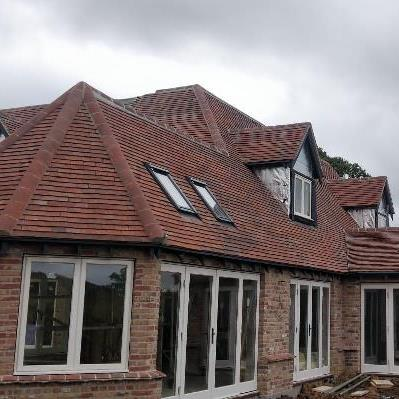 Large 5 bed timber frame project in Hampshire