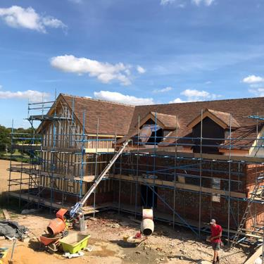 Large detached SIP Panel Roof in Hampshire