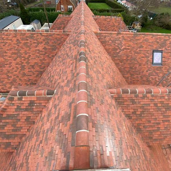 New Roof on large detached property in Botley