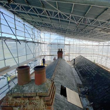 Structural roof alterations in Hampshire