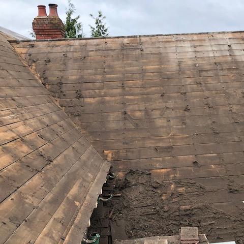 Large Victorian Detached House Sds Roofing Services Ltd